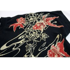 画像11: 抜刀娘 (ばっとうむすめ) 凛 夕涼み  刺繍入りプリントTシャツ【282137】 (11)