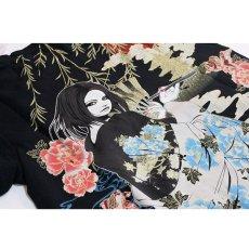画像8: 抜刀娘 (ばっとうむすめ) 凛 夕涼み  刺繍入りプリントTシャツ【282137】 (8)