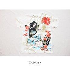 画像5: 抜刀娘 (ばっとうむすめ) 凛 夕涼み  刺繍入りプリントTシャツ【282137】 (5)