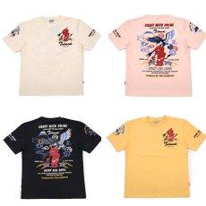 画像1: テッドマン半袖抜染Tシャツ『CRAFT WHITH PRIDE 』 (1)
