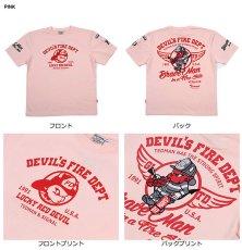 画像3: テッドマン半袖抜染Tシャツ『ファイヤーマン 』 (3)