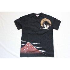 画像2: 【華鳥風月】華鳥風月×いまは昔限定コラボ 月夜に舞う鶴と牡丹Tシャツ【882102 】 (2)