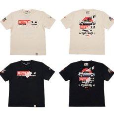 画像1: カミナリ カミナリワークスTシャツKMT-KMT-187『Newカミナリモータース』 (1)
