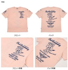 画像5: テッドマン半袖抜染TシャツTDSS-497『8th AIR FORCE』 (5)