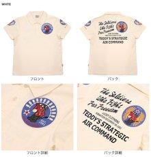 画像2: テッドマン 抜染ポロシャツTMSP-200『AIR COMMAND』  (2)