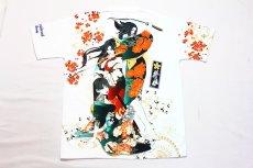 画像6: 抜刀娘 (ばっとうむすめ)3人娘半袖Tシャツ【202830】 (6)