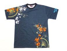 画像3: 抜刀娘 (ばっとうむすめ)3人娘半袖Tシャツ【202830】 (3)