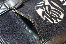 画像7: 参丸一(サンマルイチ) 刺繍唐草トートバッグ【SZ-505419】 (7)