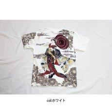 画像7: 【華鳥風月】華鳥風月花魁 刺繍 和柄Tシャツ/半袖【392227 】 (7)