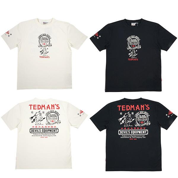 画像1: テッドマンTDSS-456半袖Tシャツ (1)