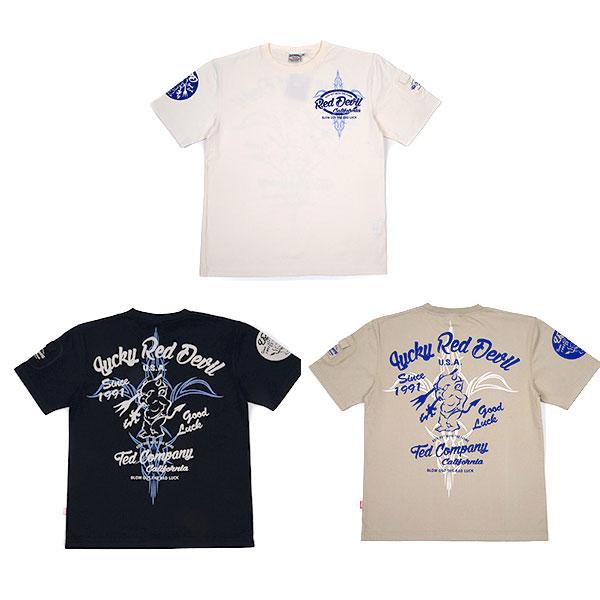画像1: テッドマン半袖抜染Tシャツ『ピンストテッド 』 (1)
