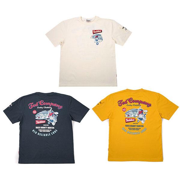 画像1: テッドマン半袖抜染Tシャツ『TEDDON』 (1)