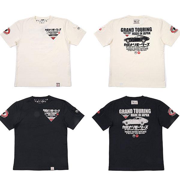 画像1: カミナリ カミナリワークスTシャツKMT-165『GRAND TOURING』 (1)